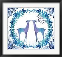 Framed Winter Tales Deer