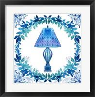 Framed Winter Tales Lamp