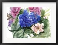 Framed Watercolor Garden II