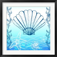 Ocean III Framed Print