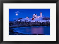Framed Christmas At Nubble