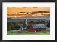Framed Farm and A Prayer