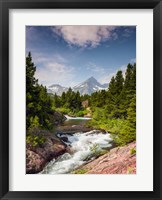 Framed Glacial Creek