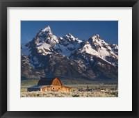 Framed John Moulton Barn