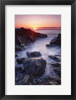 Framed Sunrise at Marginal Way