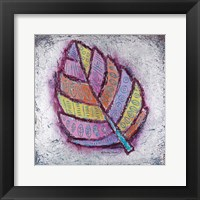 Framed Silver Leaf