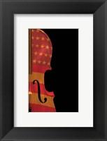 American Fiddle Framed Print
