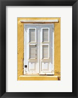 Framed Beach House Shutters