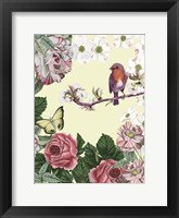 Bird Garden II Framed Print