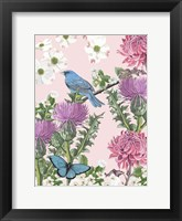 Bird Garden IV Framed Print