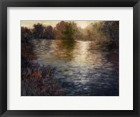 Framed Glowing Reflection