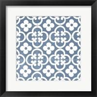 Framed Chambray Tile I