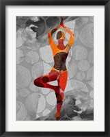 Framed Yoga Pose I