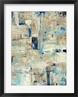 Aqua Separation II Framed Print