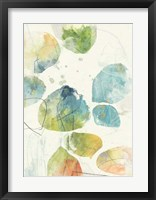Color Motion IV Framed Print