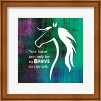 Framed Horse Quote 1