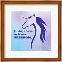 Framed Horse Quote 3