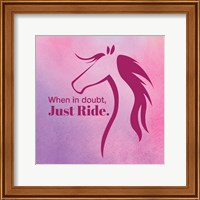 Framed Horse Quote 5
