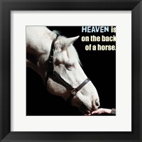 Framed Horse Quote 9