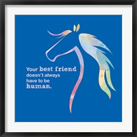 Framed Horse Quote 11
