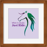 Framed Horse Quote 12