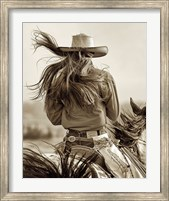 Framed Cowgirl