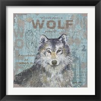 Framed Where Does a Wolf Prowl