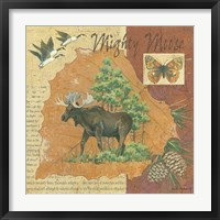 Where Does an Elk Walk Framed Print