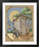 Framed Wolf Howling