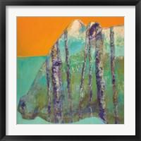 Framed Aspen Bull