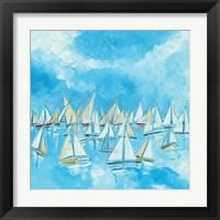 Framed Sailing Boats