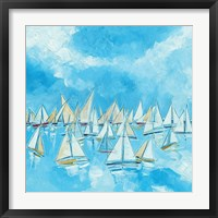 Framed Sailing Boats