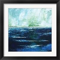 Framed Storm at Sea