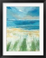 Framed Summer Sea and Beach at Holkham
