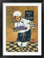 Framed Hug the Chef
