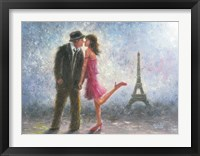 Framed Paris Love