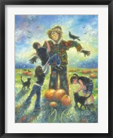Framed Pumpkin Patch Helping Hands