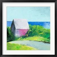 Framed Pink House