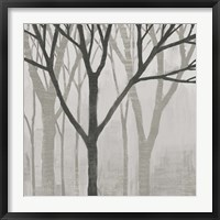 Spring Trees Greystone II Framed Print