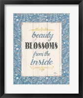 Blooming Season V Framed Print