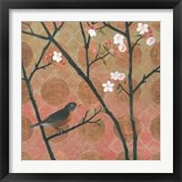 Framed Cherry Blossoms II