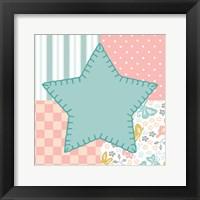 Baby Quilt IV Framed Print