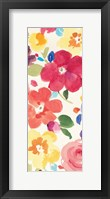 Popping Florals III Framed Print