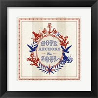 Nautical Wisdom II Framed Print