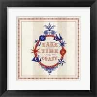 Nautical Wisdom IV Framed Print