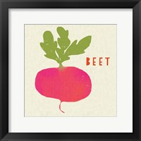 Framed Summer Vegetable I