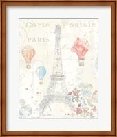 Framed Lighthearted in Paris II