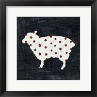 Framed Modern Americana Farm II