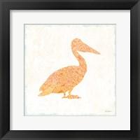 Framed Flamingo Tropicale IX