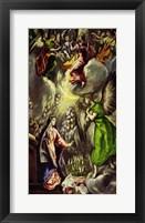 Framed Annunciation, 1570-1573